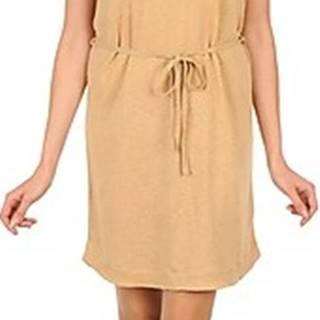 Majestic Krátké šaty CAMELIA Béžová
