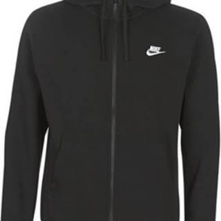 Nike Mikiny M NSW CLUB HOODIE FZ BB Černá