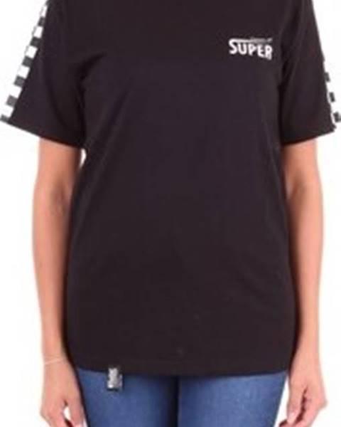 Černý top Vision Of Super