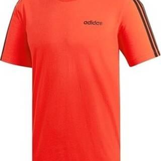 adidas Trička s krátkým rukávem Essentials 3STRIPES Oranžová
