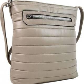 New Berry Tašky přes rameno Elegantní prošívaná crossbody kabelka YH1602 béžová Béžová