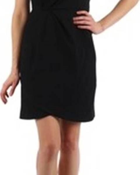 Manoukian Manoukian Krátké šaty YOKE Černá