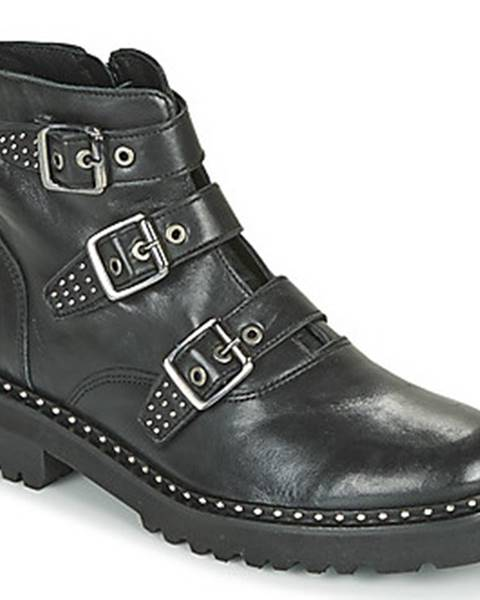 Černé boty Philippe Morvan