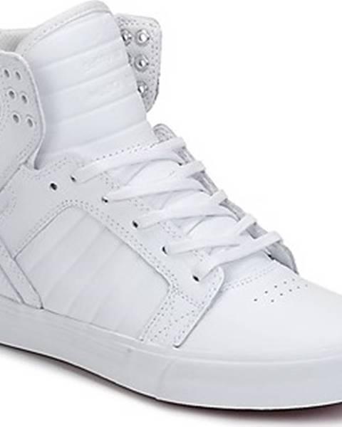 Bílé tenisky Supra