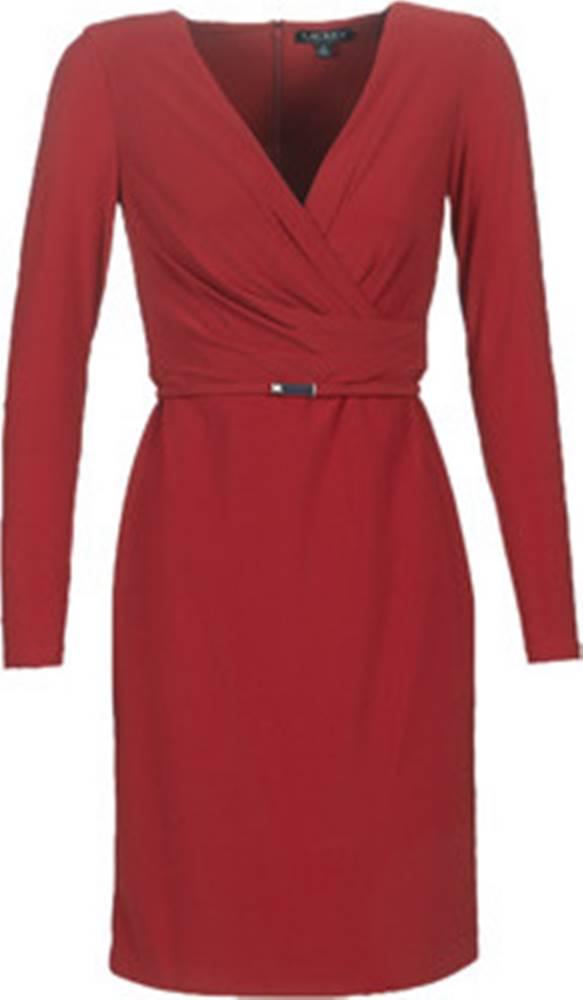 lauren ralph lauren Lauren Ralph Lauren Krátké šaty ALEXIE Červená