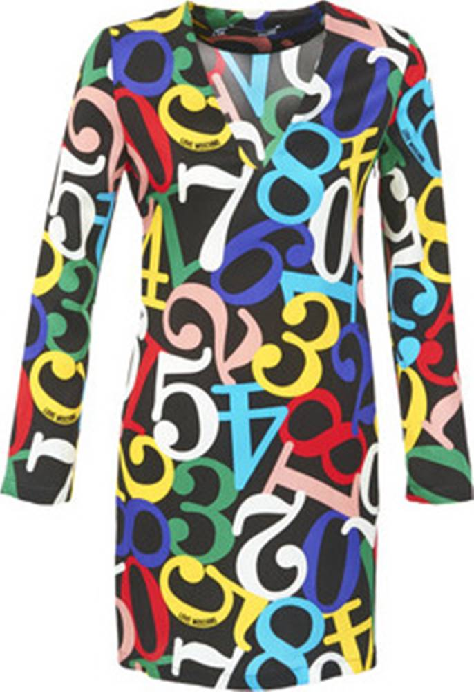 Love Moschino Love Moschino Krátké šaty PICHANI ruznobarevne