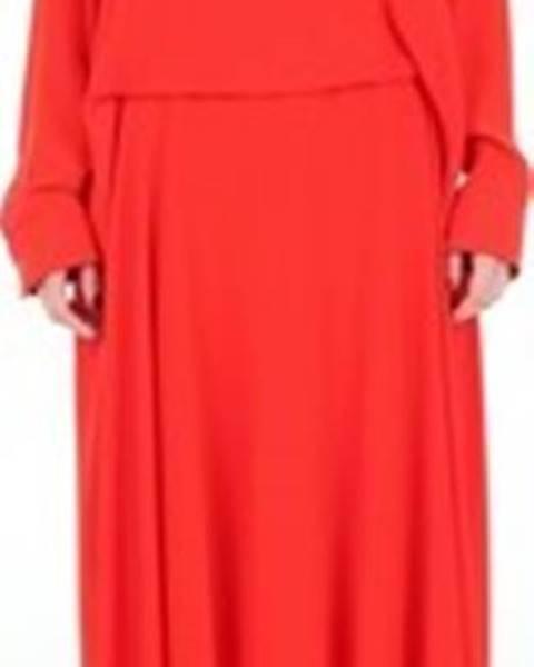 Červené šaty Cédric Charlier