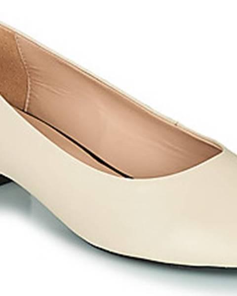 Béžové boty geox
