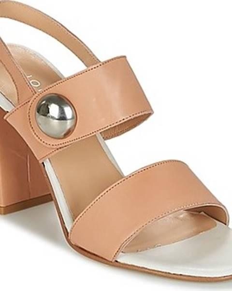 Béžové sandály Jonak