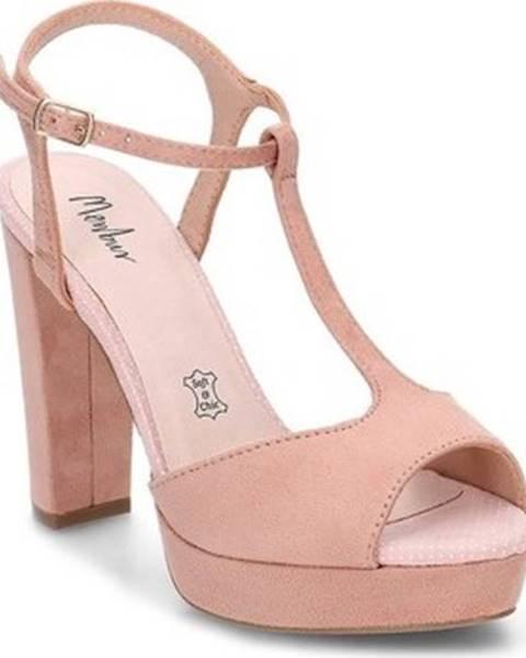 Béžové sandály Menbur