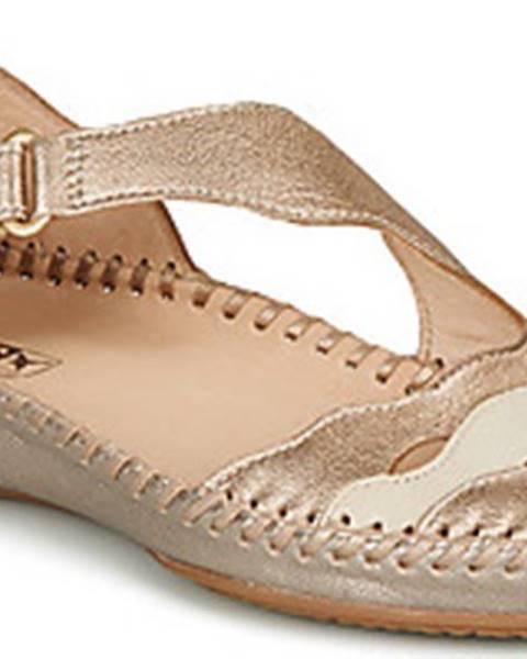 Zlaté sandály Pikolinos