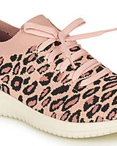 Růžové boty Skechers