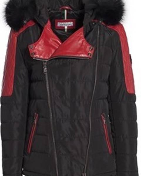 Černá bunda Ventiuno