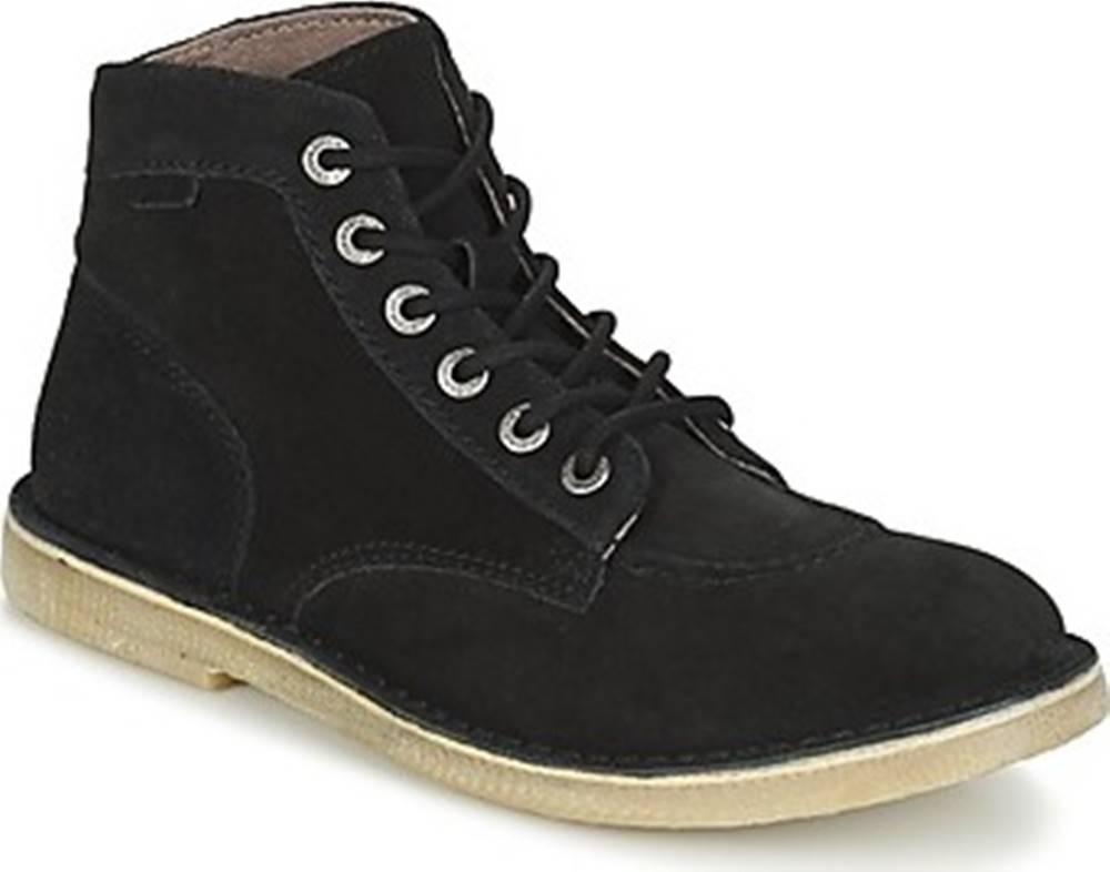 Kickers Kickers Kotníkové boty ORILEGEND Černá