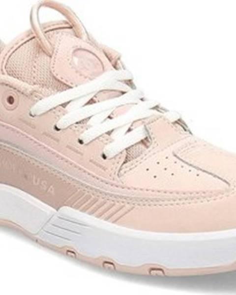 Růžové tenisky DC Shoes