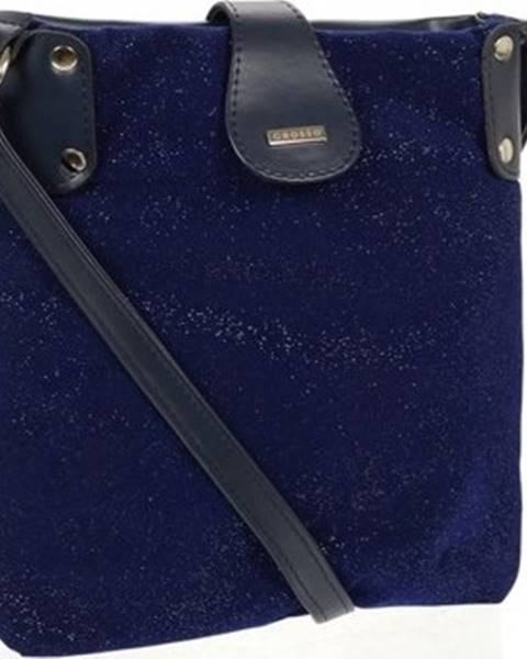Modrá kabelka Grosso