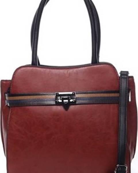 Červená kabelka Maria C.