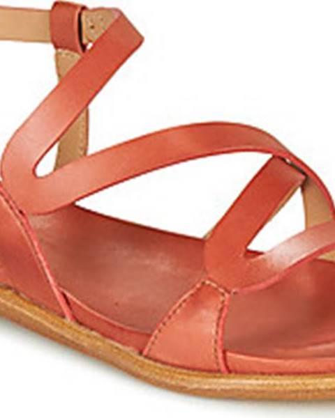 Červené sandály Neosens