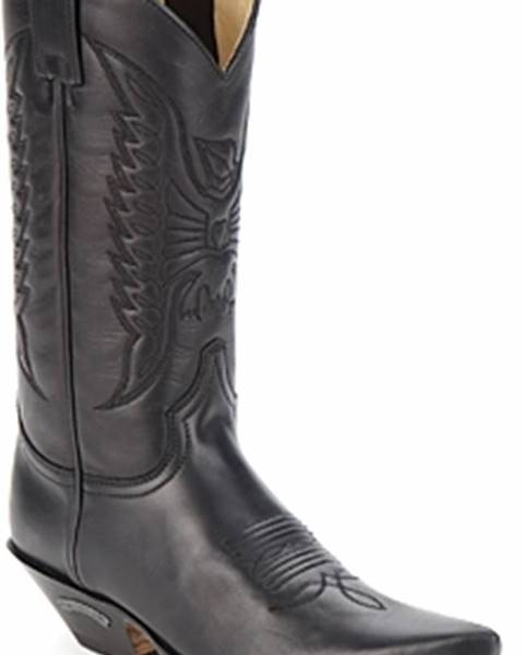 Černé kozačky Sendra boots