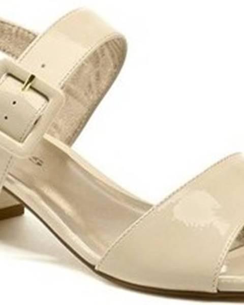 tamaris Sandály 1-28211-20 béžové dámské sandály Béžová