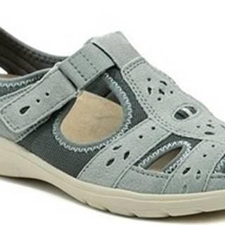 Earth Spirit Sandály Cleveland denim dámská letní obuv Other