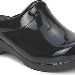 Sanita Pantofle SONJA OPEN Černá