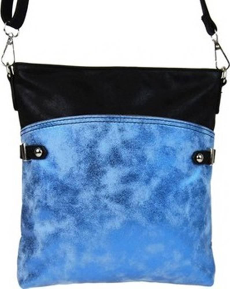 Tapple Tapple Kabelky s dlouhým popruhem Elegantní malá dámská crossbody kabelka 16216 modro-černá Modrá