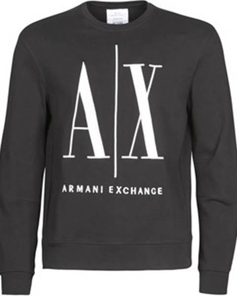 Černá mikina Armani Exchange