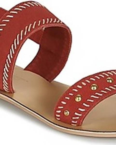 Červené sandály Betty London