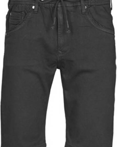 Černé kraťasy pepe jeans