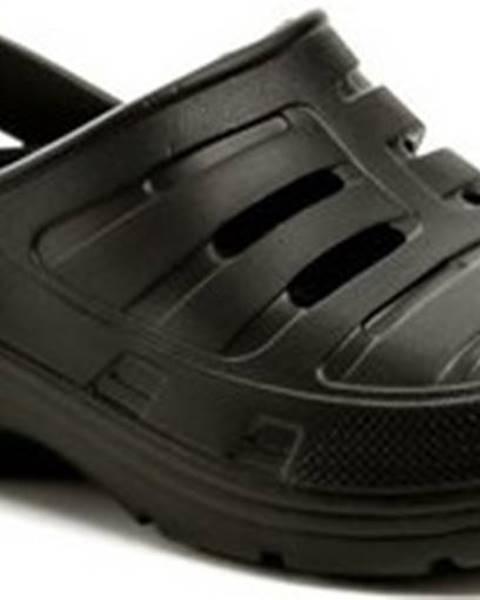 Černé pantofle COQUI