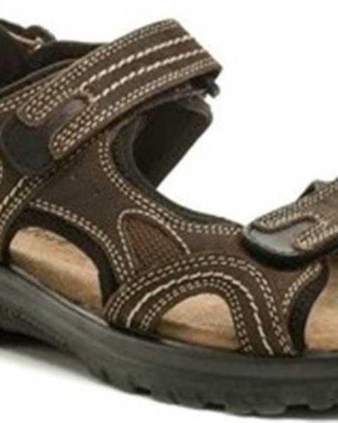 Hnědé sandály Cortina.be