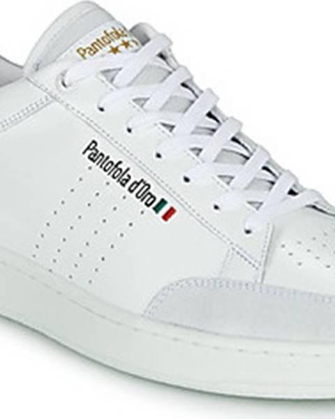 Bílé tenisky PANTOFOLA D'ORO