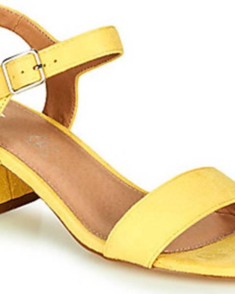 Žluté sandály Vanessa Wu