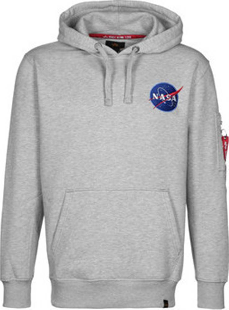 Alpha Alpha Mikiny NASA Space Shuttle Hoody