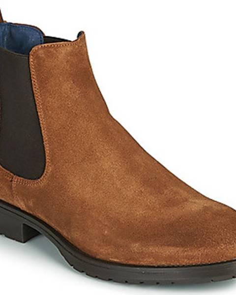 Hnědé boty Casual Attitude