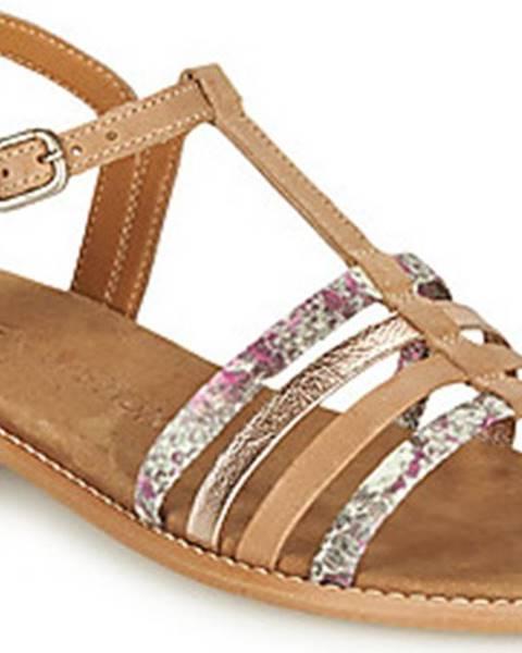 Hnědé sandály Karston