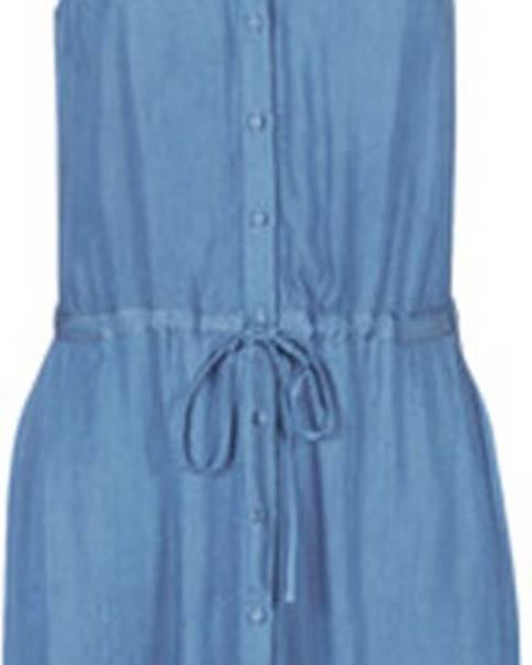 Modré šaty Naf Naf
