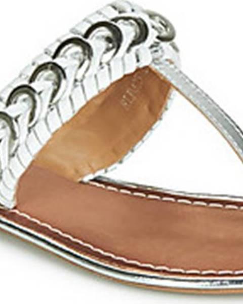 Stříbrné pantofle Ravel