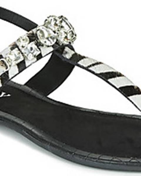 Černé sandály Replay