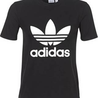 adidas Trička s krátkým rukávem TREFOIL TEE Černá