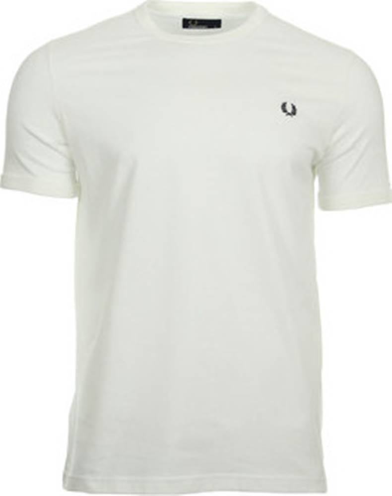 Fred Perry Fred Perry Trička s krátkým rukávem Ringer T-Shirt Bílá