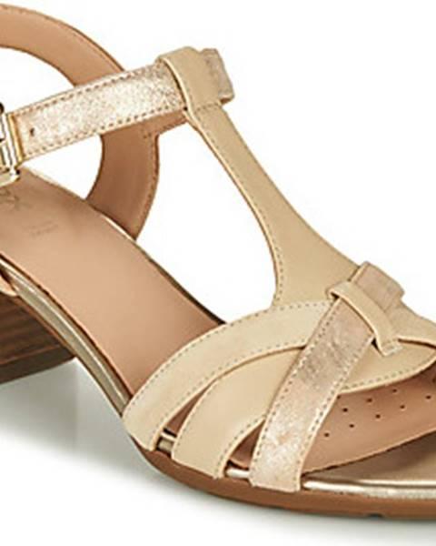 Béžové sandály geox