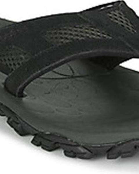 Černé pantofle Merrell