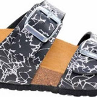 Bio Life Dřeváky Dámské pantofle 2632-130 black Pisa 361 Černá