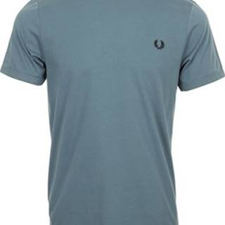 Fred Perry Trička s krátkým rukávem Ringer T-Shirt Modrá