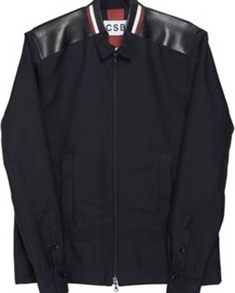 Černá bunda Csb London