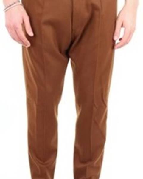 Hnědé kalhoty Pto5
