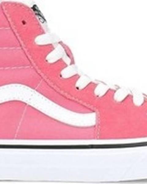 Růžové tenisky vans