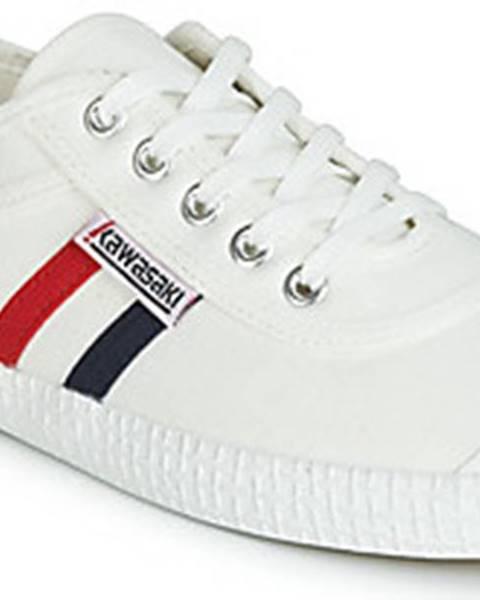Bílé tenisky Kawasaki